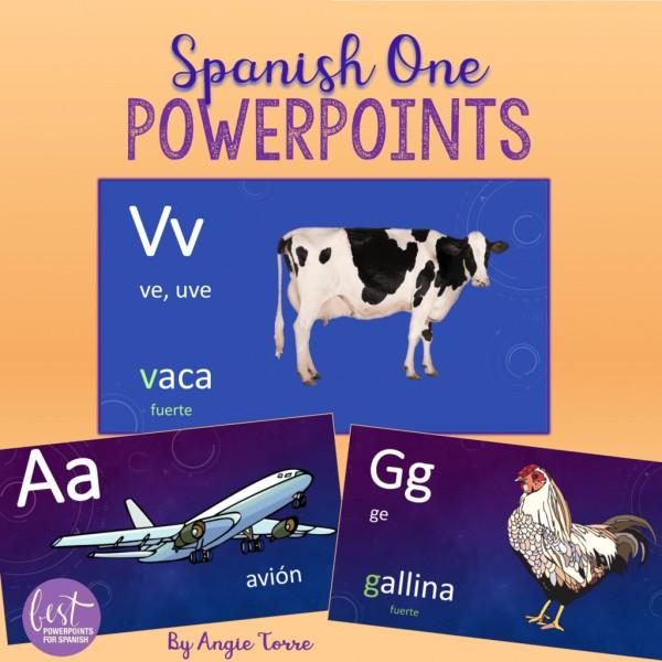 Spanish One PowerPoints