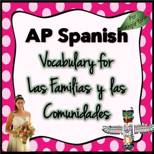 Vocabulary for Triángulo aprobado for AP Spanish: Las familias y las comunidades