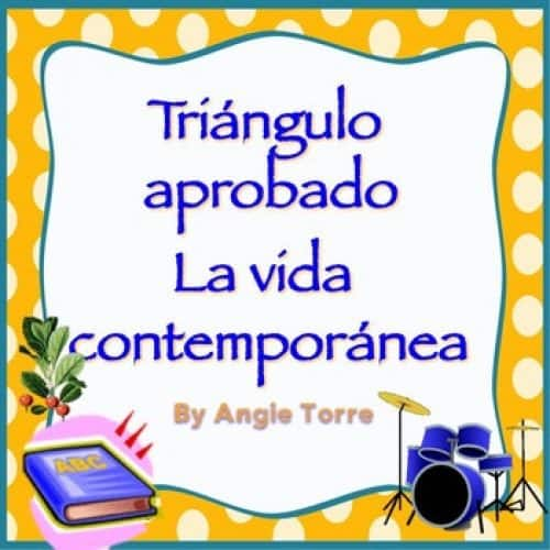 AP Spanish Vocabulary Practice for Triángulo Aprobado: La vida contemporánea