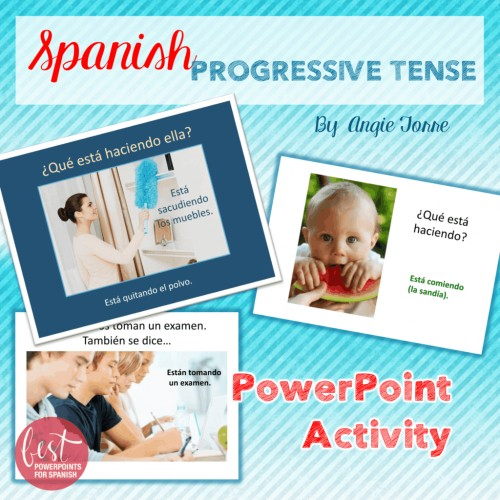 Spanish Progressive Tense Activity