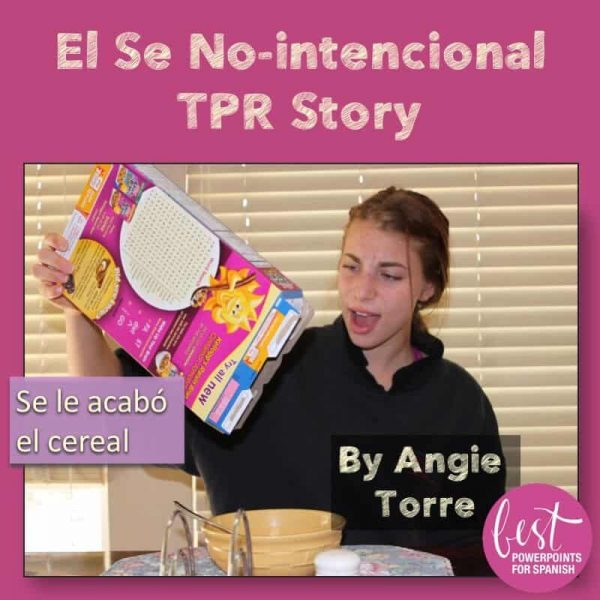 TPR Story and Activity for Non-intentional Se