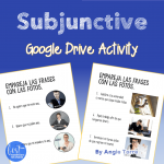 Spanish Present Subjunctive el subjuntivo Google Drive Activity