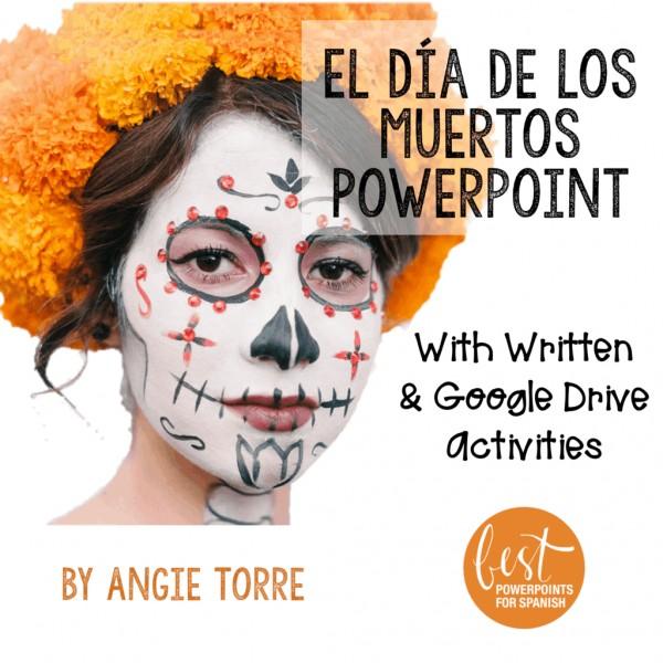 Día de los Muertos Day of the Dead PowerPoint and Activities
