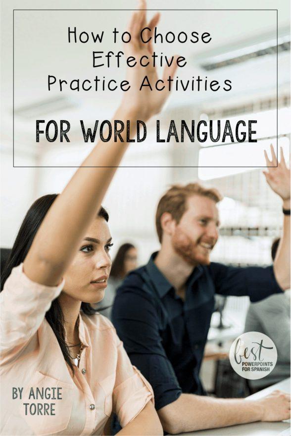 How to Choose Effective Practice Activities
