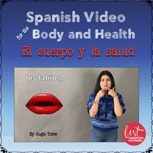 El cuerpo y la salud video Spanish Body and Health