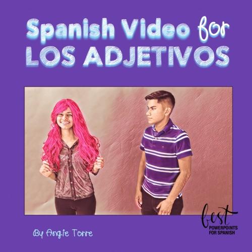 Spanish Adjectives Los adjetivos Video