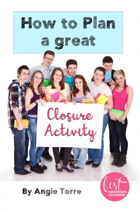 How to plan a great closure activity