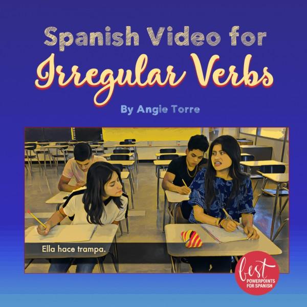 Spanish Video for Irregular Verbs