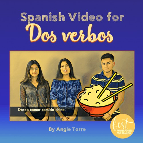 Spanish Video for Two Verbs in a Sentence