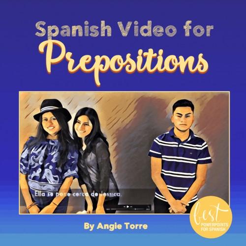 Spanish Prepositions Video