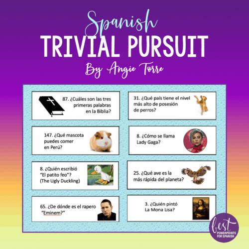 Spanish Trivial Pursuit