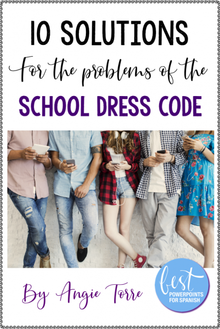 10 Solutions for the Problems of the School Dress Code