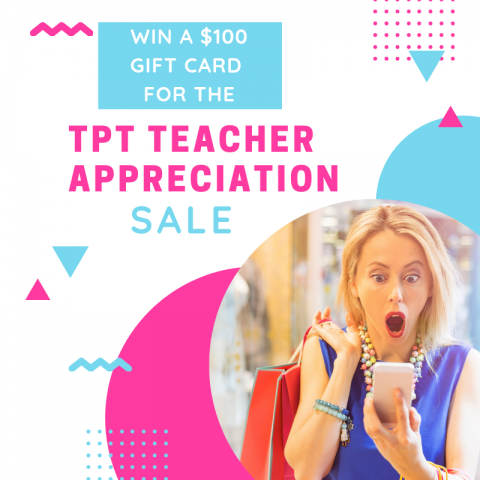 Win a $100 Gift Card for the Teacher Appreciation Sale