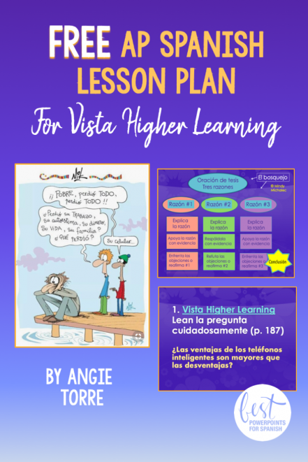 Free AP Spanish Lesson Plans for Vista Higher Learning