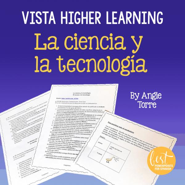 Vista Higher Learning La ciencia y la tecnología