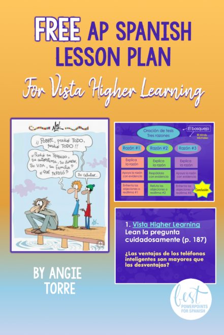 Free AP Spanish Lesson Plan for Vista Higher Learning