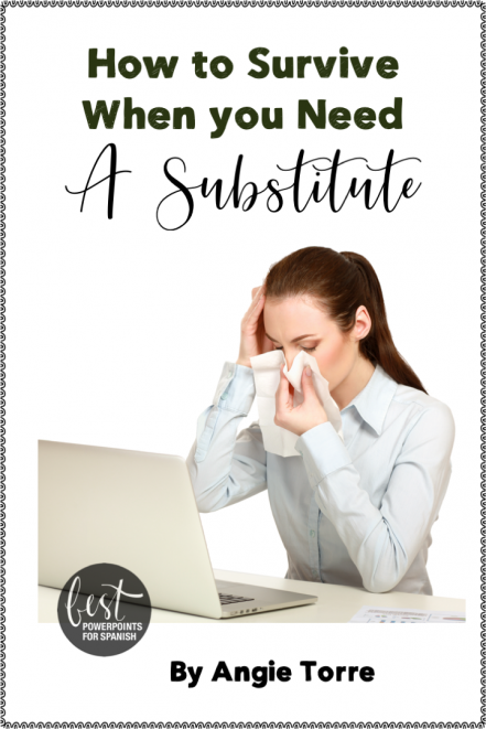 How to Survive When you Need a Substitute