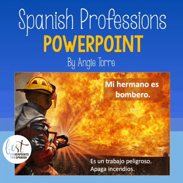 Spanish Professions PowerPoint