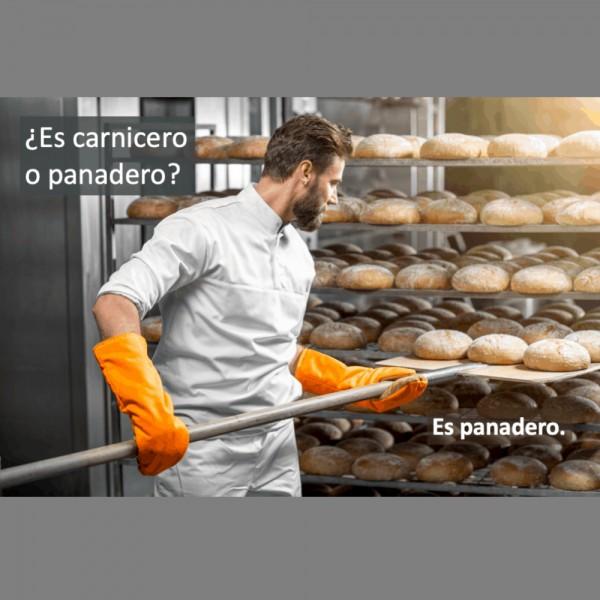 Las profesiones: ¿Es carnicero o panadero?
