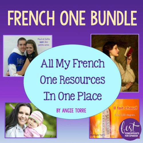 French One Bundle All my French One Resources in One Place