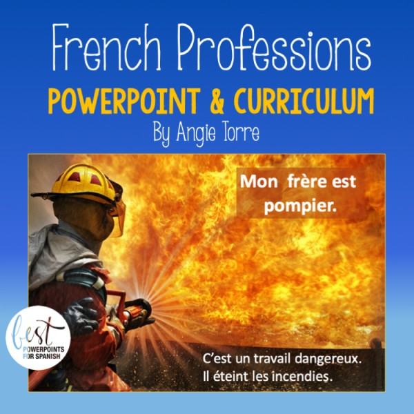 French Professions PowerPoint and Curriculum