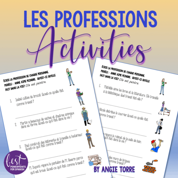 Les professions Activities