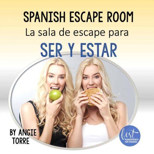 Spanish Escape Room La sala de escape para Ser y Estar