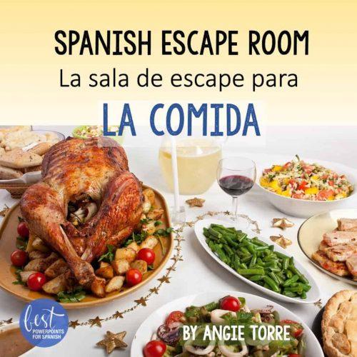 La comida Spanish Escape Room