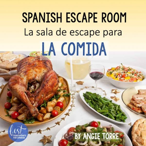 La comida Spanish Escape Room