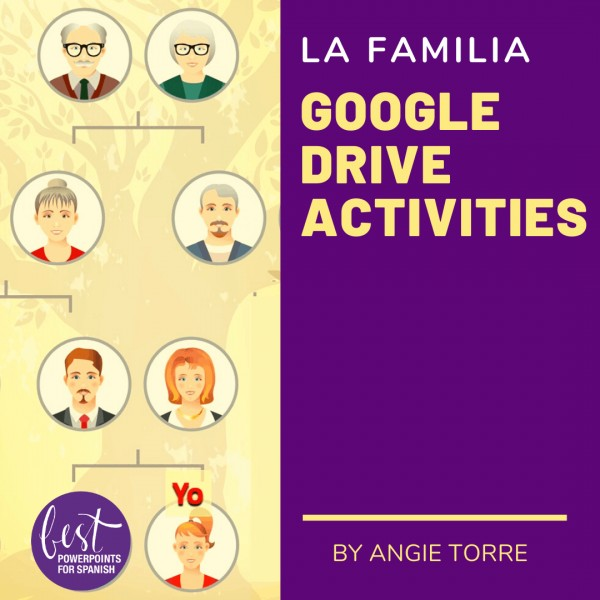 La familia Google Drive Activities
