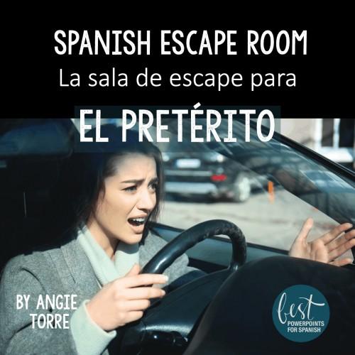 Spanish Escape Room La sala de escape para El Pretérito