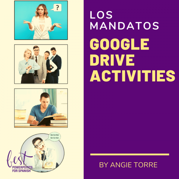 Los mandatos Google Drive Activities