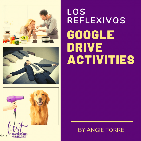 Spanish Reflexive Verbs Daily Routine Google Drive Activities
