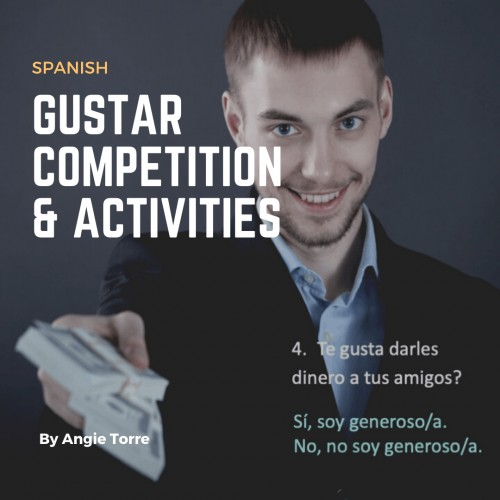 Spanish Gustar Competition and Activities