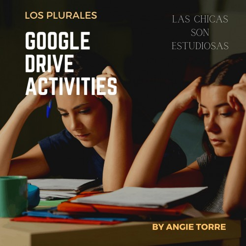 Spanish Singular and Plural Nouns and Adjectives Google Drive Activities