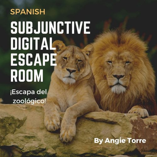Spanish Subjunctive Digital Escape Room